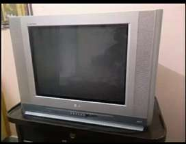 """21"""",color tv, LG, best condition, no repairing, with remort"""