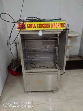 New Grill Machine not used