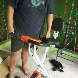 Sepeda fitnes lipat New X bike magnetik suara halus