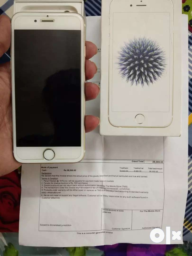 IPhone 6 32gb bill box full kit 0
