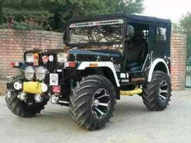 06 Full modified Jeep ready your booking to All States transfer
