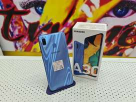"TRYME 4GB/64GB SAMSUNG A30 Fresh Condition""s Full Kit Box"