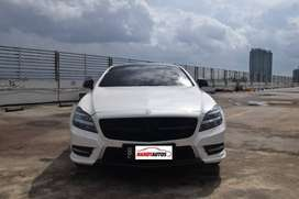 Mercedes Benz CLS 350 Tahun 2012 / 2013 Sunroof White
