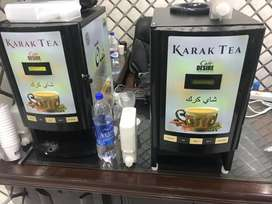 Tea and coffee machines & premix
