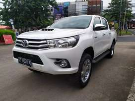 Toyota Hilux G 2.5 VNT Double Cabin Manual 4wd Putih Cakep