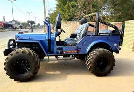 Jeep willy blue