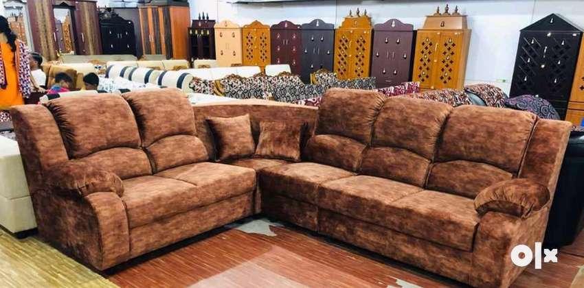 Corner sofa with 6 seater 0