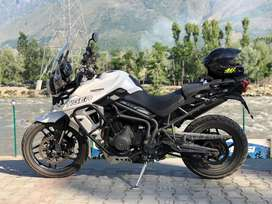 2018 Triumph Tiger XRx 800 TS Registration with Akrapovic Exhaust