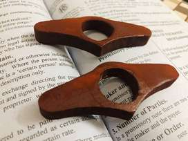 Thumb book page holder