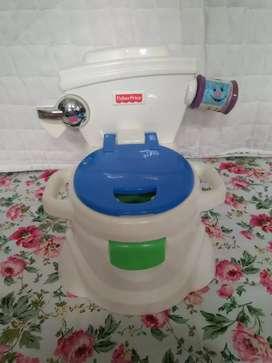 Jual learn to flash potty seken merek fisher price
