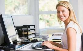 typing work from home for students retired persons and housewife's