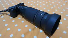 Lensa Nikon Nikkor 80-200 F2.8 2.8 Sony Mirrorless Adapter Bonus