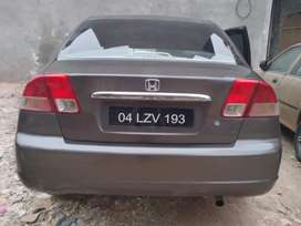 Family Used Honda Civic 2004.Good Condition.10 lac 90 thousand.