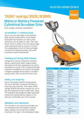 Automatic floor cleaning & washing machines