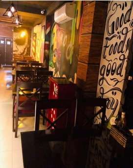 Running bar and restaurant available in rajouri