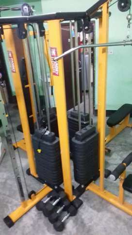 multi gym fully comercial and homeuse
