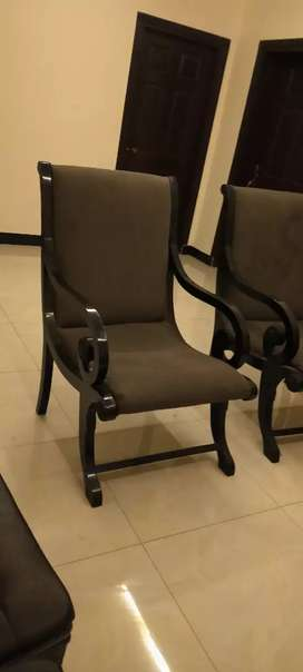 Bedroom chair set of 2