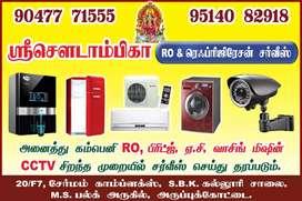 RO & AC, FRIDGE, CCTV, WASHING MACHINE SERVICE