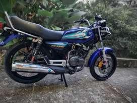 RX king peredam asli, warna biru
