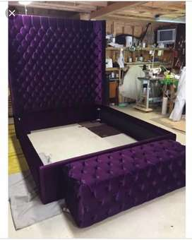 Bridal bed set Dressing and side tables