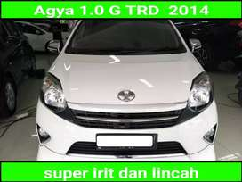toyota agya 1.0 TRD automatic/at 2014 istimewa