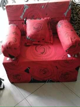 Sofabed inoac,ukuran:200x90x20cm, furniture 2in1 murah&hemat
