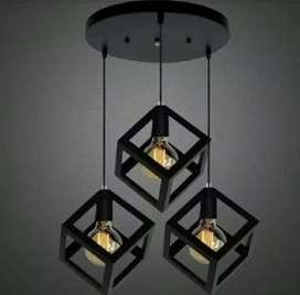 Lampu gantung 3 lampu 5 lampu