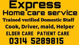 Express provide Family Cook Helper patient care Couple baby care etc