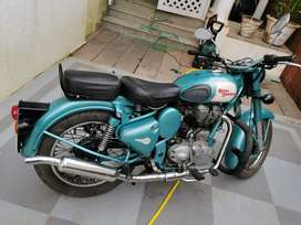 RE Classic 500 only done 1710 km.
