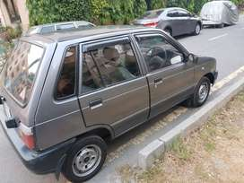 Mehran VX for sale in Lahore Cantt under use of Army Officer.