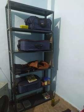 6 Shelf Slotted Angle Racks ( Almari )