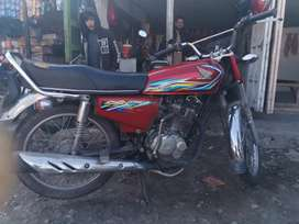 Honda 125 2018 model in good condition