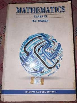 RD sharma mathematics class 11