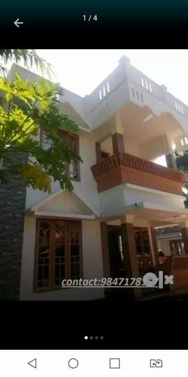 New house 1st floor near lakeshore hospital Panangad