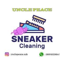 Jasa cuci sepatu/ shoes cleaning