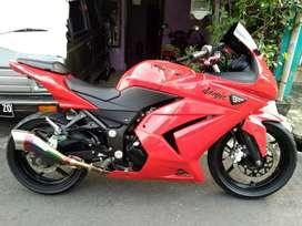 Kawasaki ninja 250 built up jepang