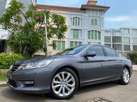 Honda Accord 2.4 VTI-L 2013 Nik13 New Model Titanium Grey Km49rb Ori
