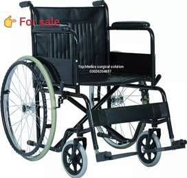 Wheel Chair manual steel type Brand New