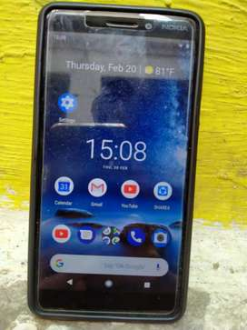 Nokia 6.1 (3GB RAM 32GB STORAGE)