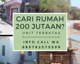 Cari rumah 200 jtan?