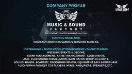 Music And Sound Factory              Dj Sound And Light Setup Service