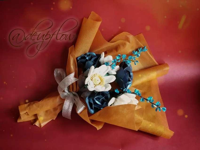 Buket bunga paperflower 0