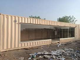 camper container/ porta cabin for sale in isb