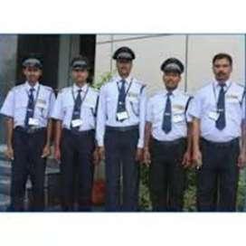 Job hiring supervisor, driver, guard, helper, loder