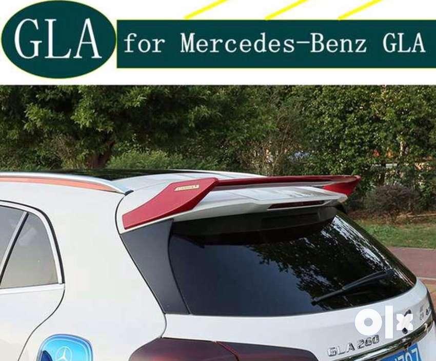 Mercedes Benz x156 GLA amg roof spoiler