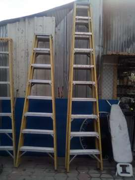 fiberglass ladder ( safe from electric short)