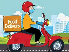 Job in delivery boy