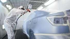 Four wheeler car Painter and Matcher(  Hyundai showroom )