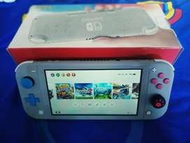 Nintendo switch lite pokemon 128gb full game