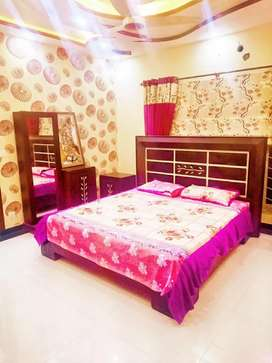 1.3kanal Corner Executive class furnish house available Rent in bahria